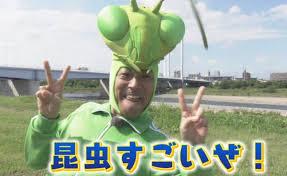 昆虫すごいぜ!のカマキリ先生が10月9日Eテレに帰ってくる