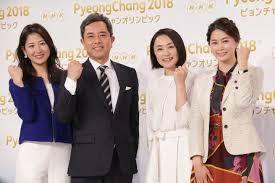 ピョンチャンオリンピックNHK及び民放各局メインキャスター紹介