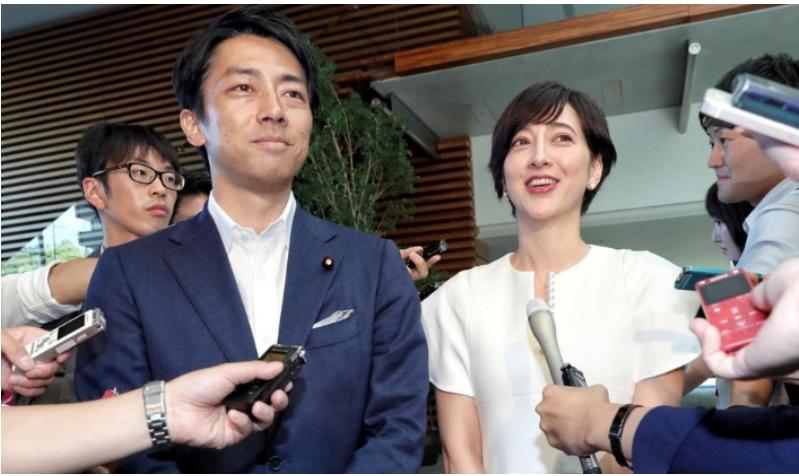 小泉進次郎と滝川クリステル馴れ初めは?妊娠及び結婚報告動画