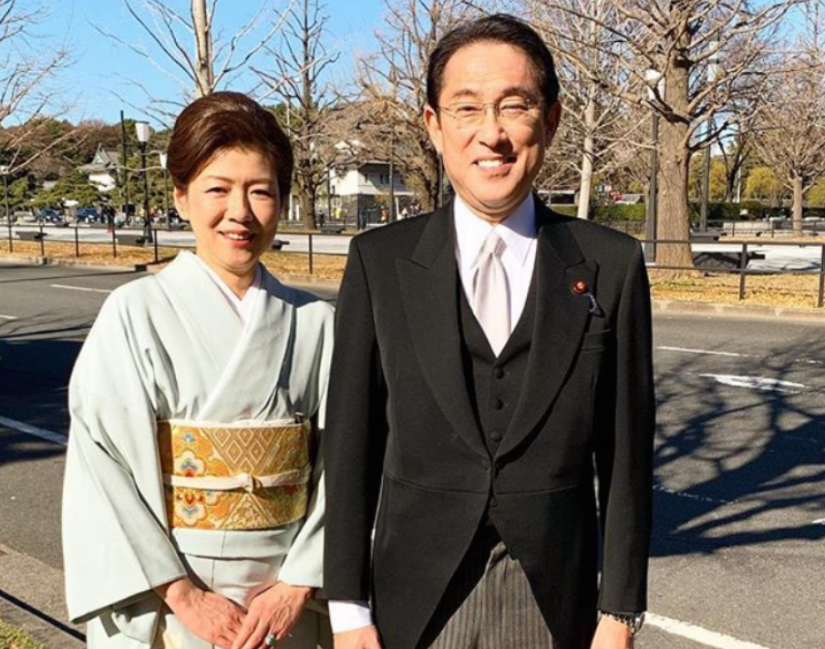 岸田文雄議員の妻